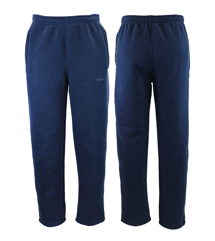 Aleklee men's thick cotton jogger pants A-027