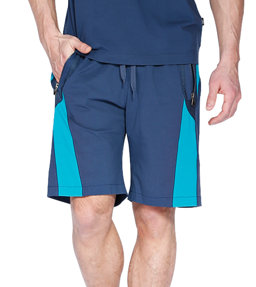 Aleklee men's 65%cotton 35%polyester shorts AL-1517