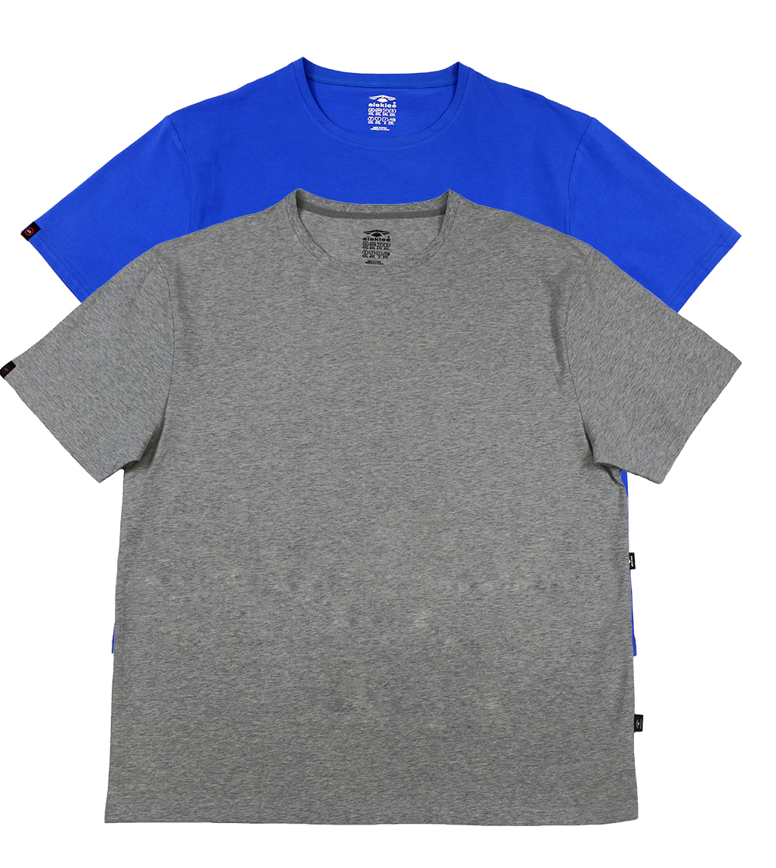 Aleklee men's plus size oneck blank tshirts AL-1519