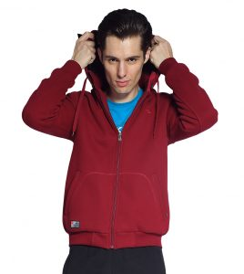 Aleklee men's whole zipper hoodies Sweatshirt AL-2066