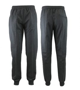 Aleklee men's cotton polyester elastane jogger pants AL-2152