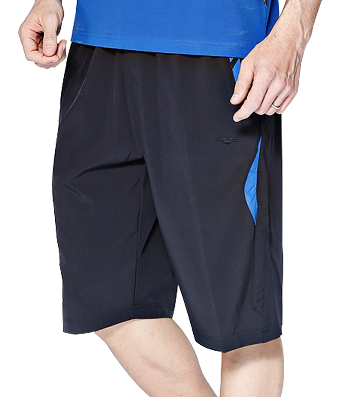 Aleklee men polyester casual shorts AK-4089
