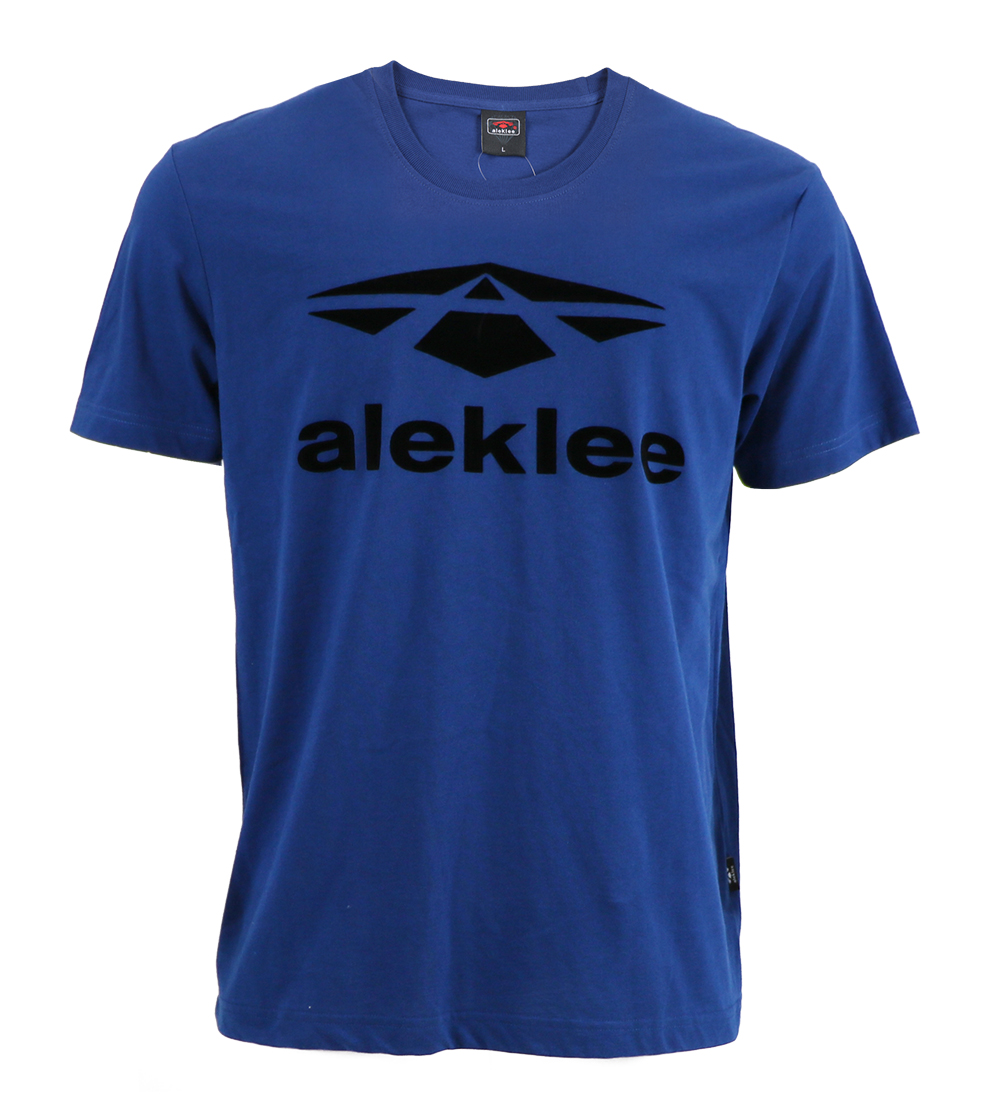 Aleklee men's cotton brand logo T-shirt AL-5006