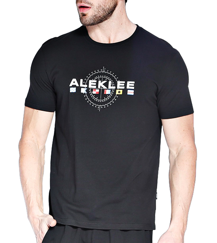 Aleklee men's 95%cotton 5%elastane T-shirt AL-6020