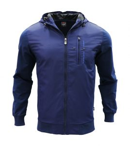 Aleklee men polyester long zipper jackets AL-7808