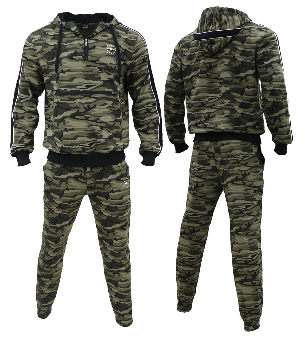 Aleklee Camo Tracksuits for men -Hoodies Sweatshirts AL-7816