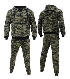 Aleklee Camo Tracksuits for men -Hoodies Sweatshirts AL-7816