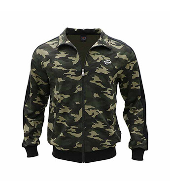 Aleklee camo long zipper Tracksuits for men -hoodies Sweatshirts AL-7823