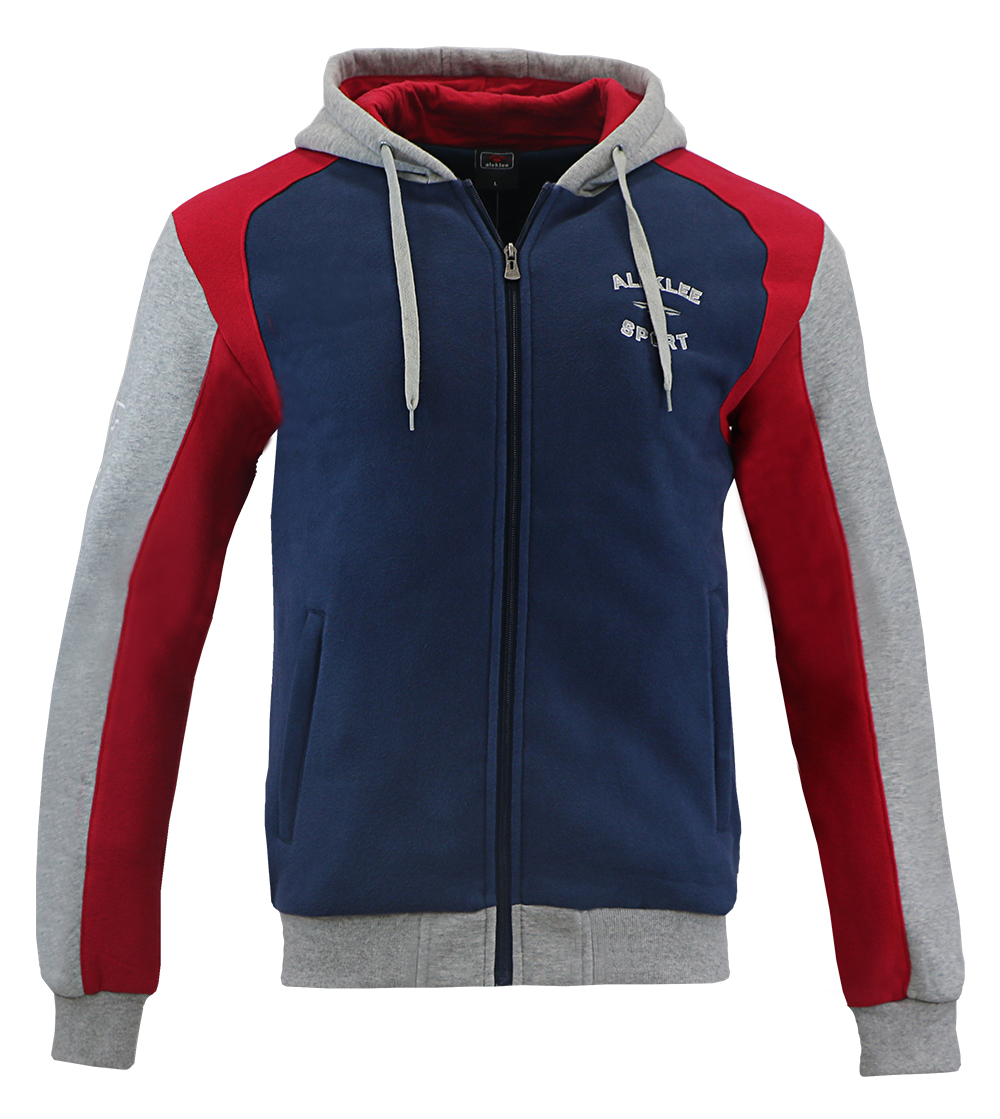 Aleklee men's zipper hoodies sweatshirts AL-1537