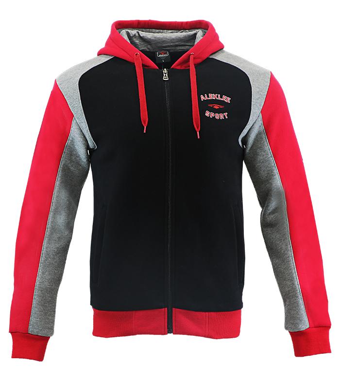 Aleklee men's zipper hoodies sweatshirts AL-1537