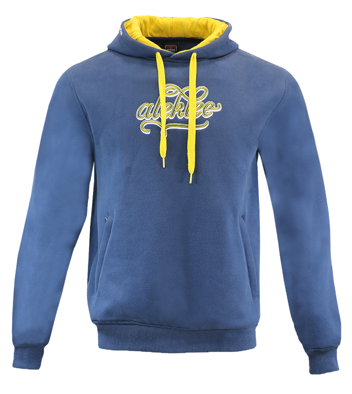 Aleklee men's thick cotton polyester Hoodies Sweatshirts AL-2136