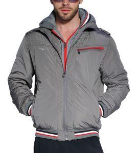 Aleklee men cotton polyester basic jacket AK-4076