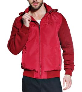 Aleklee men long zipper jackets AK-4077