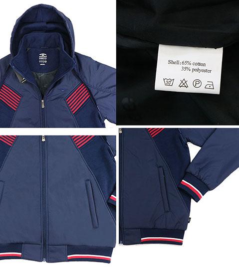 Aleklee men polyester surface zipper jackets AL-1838