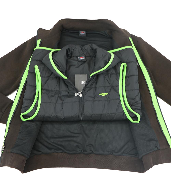 Aleklee detachable vest hoodie AL-1427
