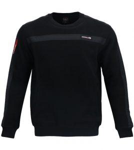 Aleklee chest stripe sweatshirt A-003