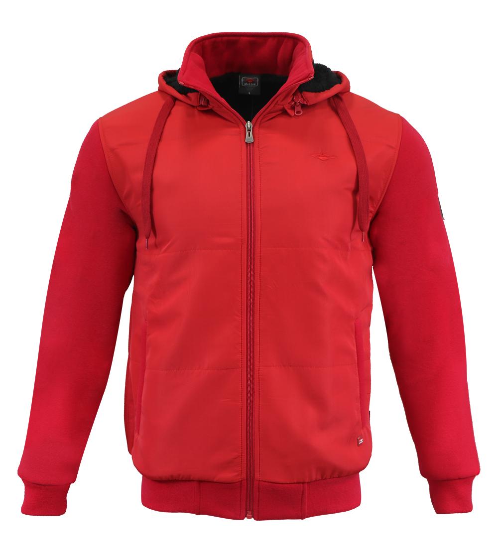 Aleklee men winter logo jacket hoodie AL-1429