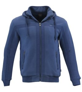 Aleklee fleece lined hooded hoodie sweatshirt AL-1435