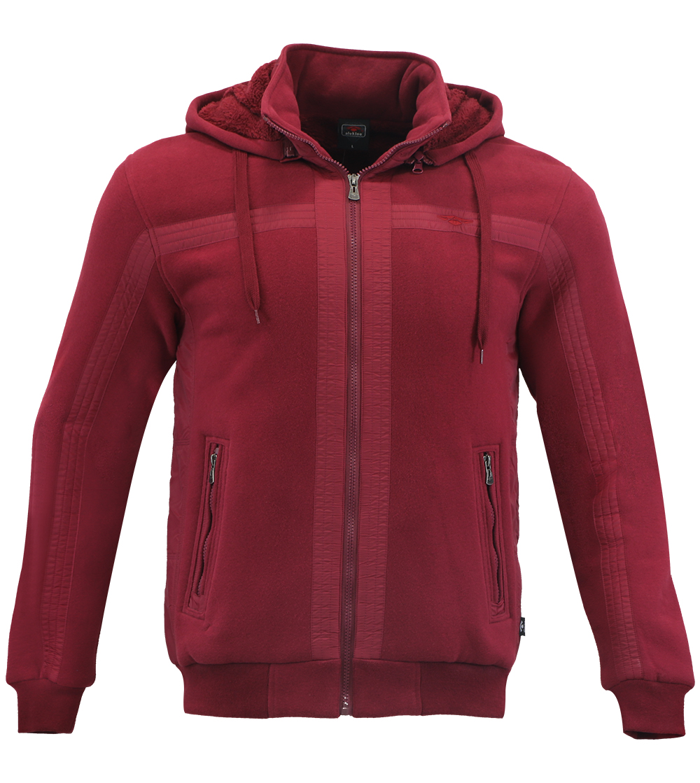Aleklee fleece lined hooded hoodie sweatshirt AL-1435