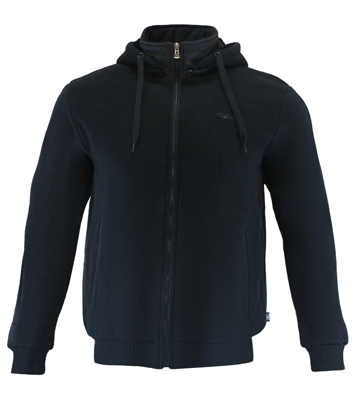 Aleklee chest logo hoodie sweatshirt AL-1454