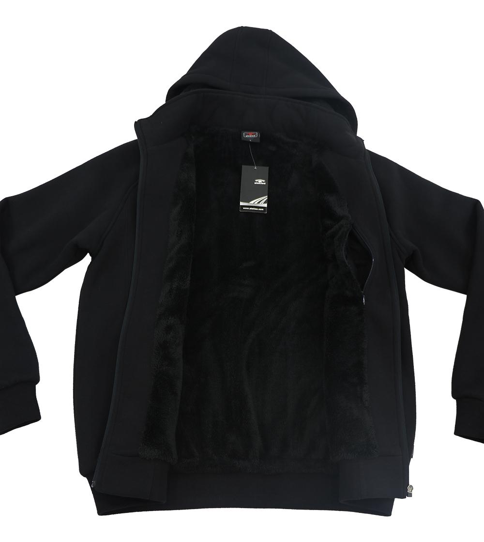 Aleklee pocket trim hoodie sweatshirt AL-1455