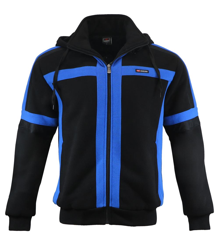 Aleklee colorblock thick jacket hoodie AL-1458
