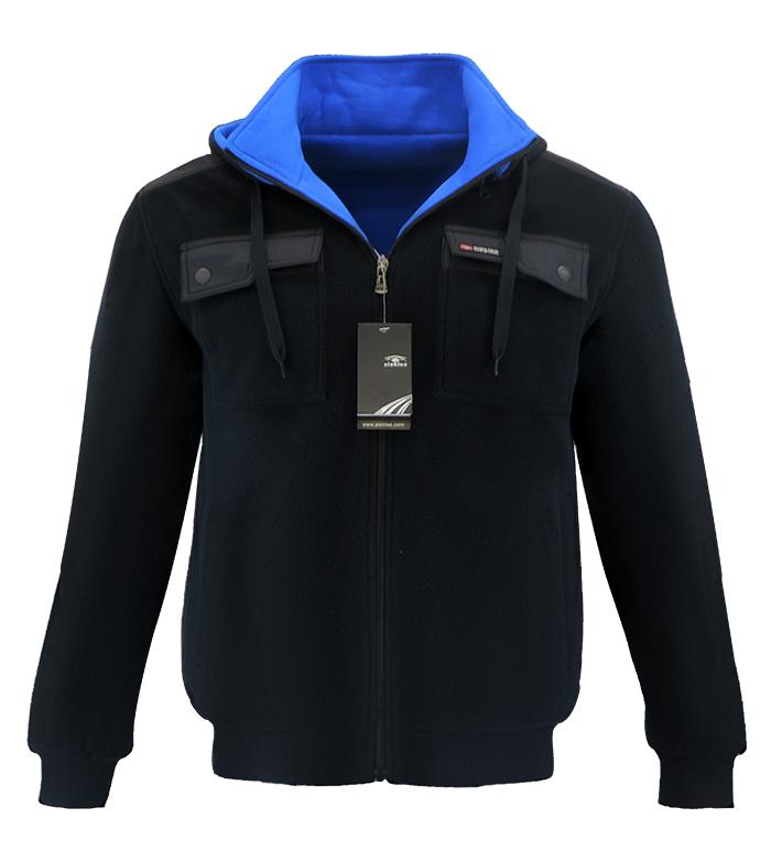 Aleklee reversible jacket hoodie AL-1529