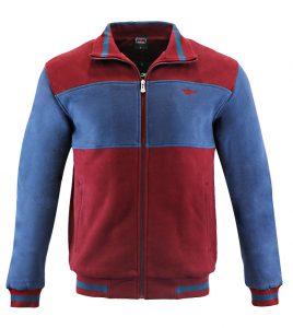 Aleklee contrast panel hoodie sweatshirt AL-1530