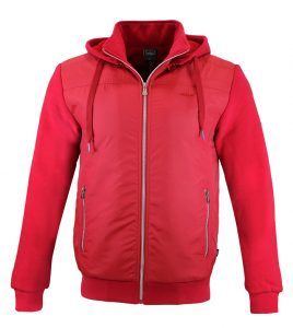 Aleklee men casual cotton polyester zipper jackets AL-1836