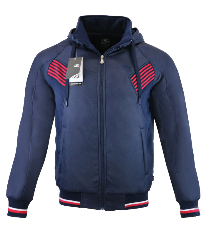 Aleklee men polyester surface zipper jackets AL-1838