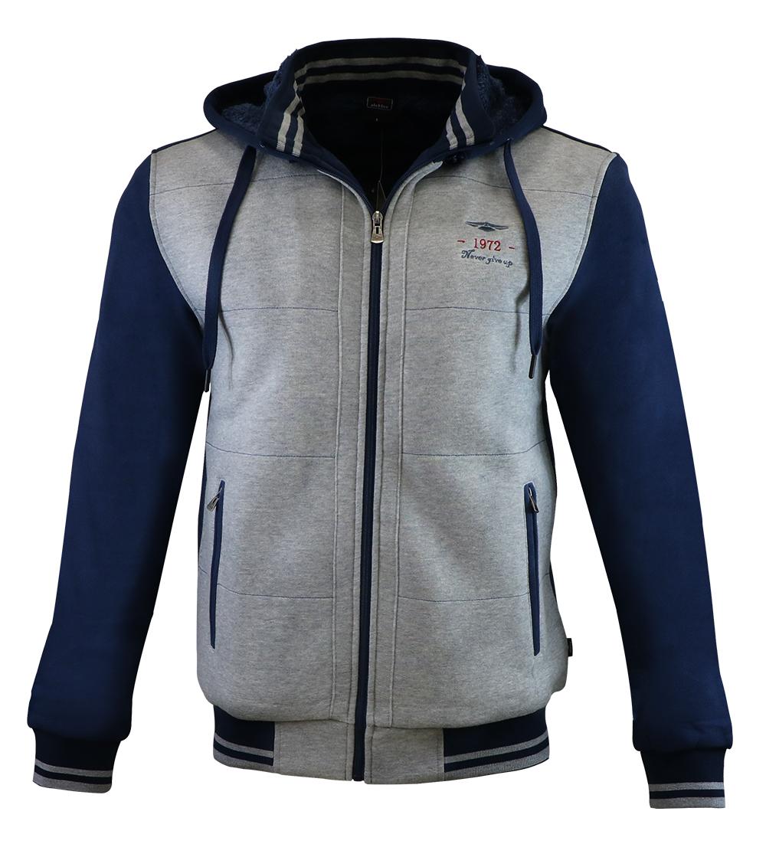 Aleklee men basic cotton zipper jackets AL-1852