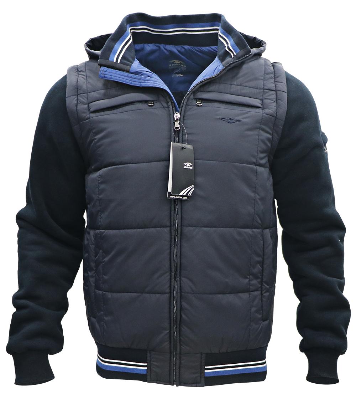 Aleklee men's plus size casual jacket AK-4074#B