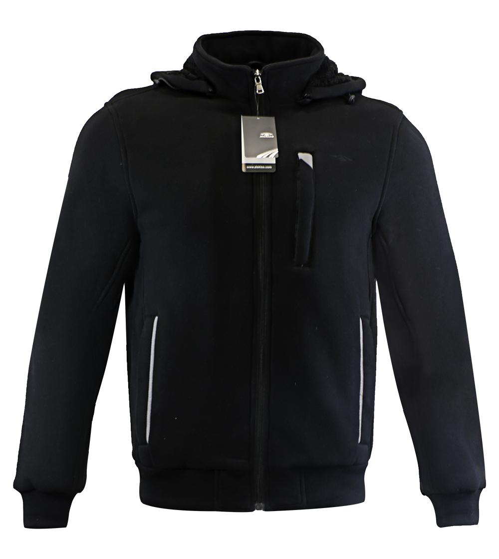 Aleklee plain blank heavy hoodie jacket AK-4085