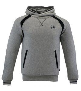Aleklee dropshoulder colorblock hoodie AL-1536
