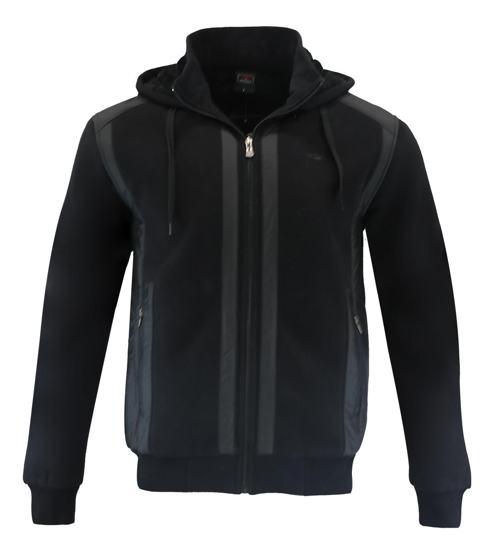 Aleklee simple pathworked hoodie AL-1539