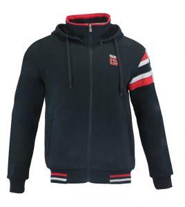Aleklee graphic stitching hoodie AL-1546