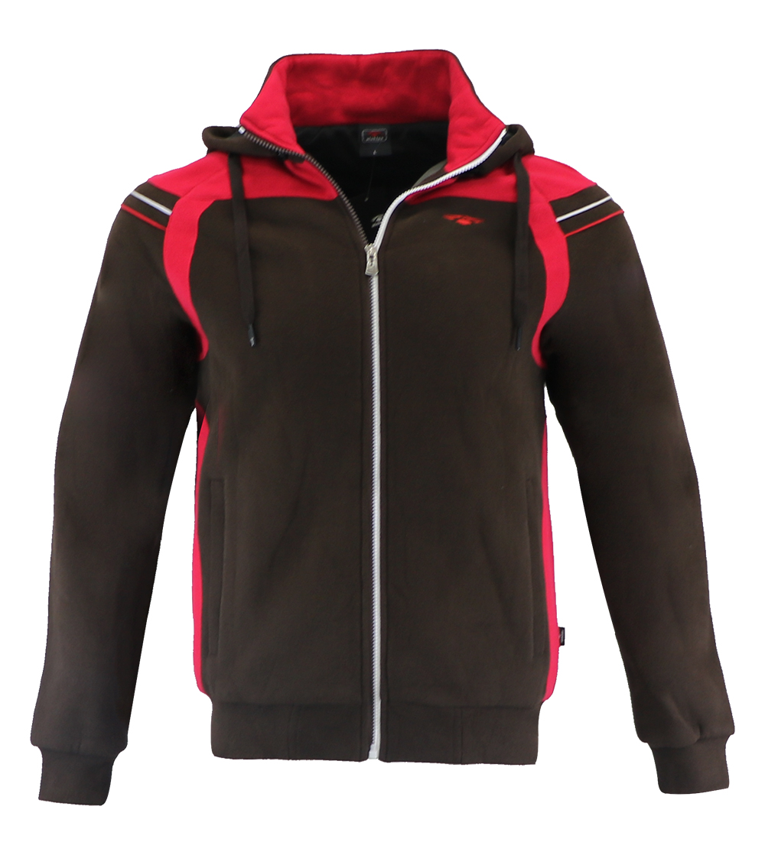 Aleklee colorblock Stitching jacket hoodie AL-1814