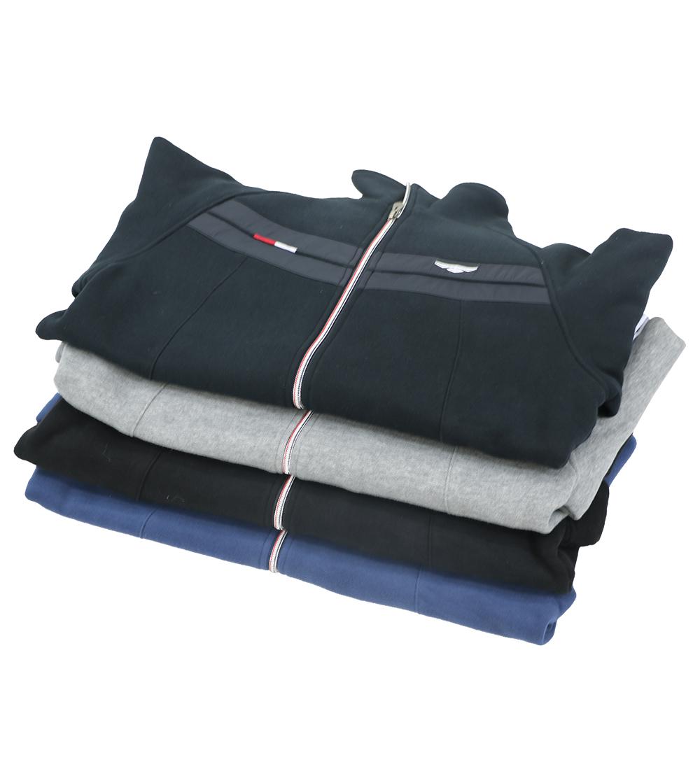 Aleklee chest stripe hoodie jacket AL-1821