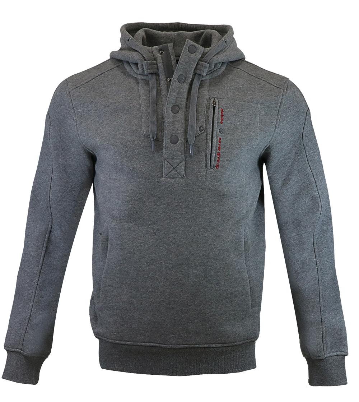 Aleklee men botton 1/4 hoodies sweatshirts AL-1840