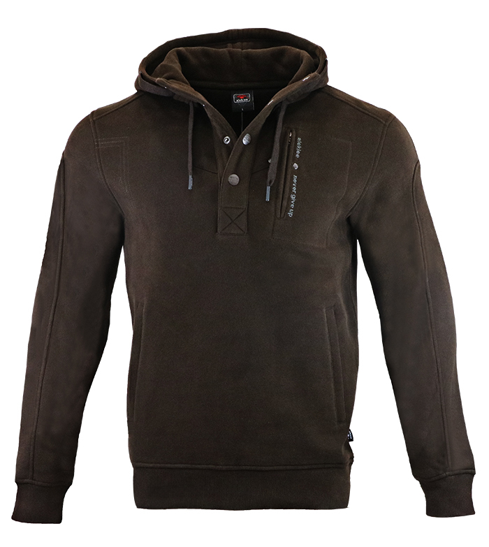 Aleklee men botton 1/4 hoodies sweatshirts AL-1840