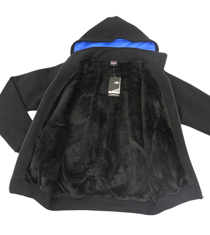 Aleklee colorblock hood hoodie AL-2126