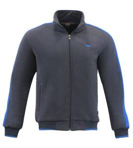 Aleklee tape sleeve high neck hoodie AL-2144