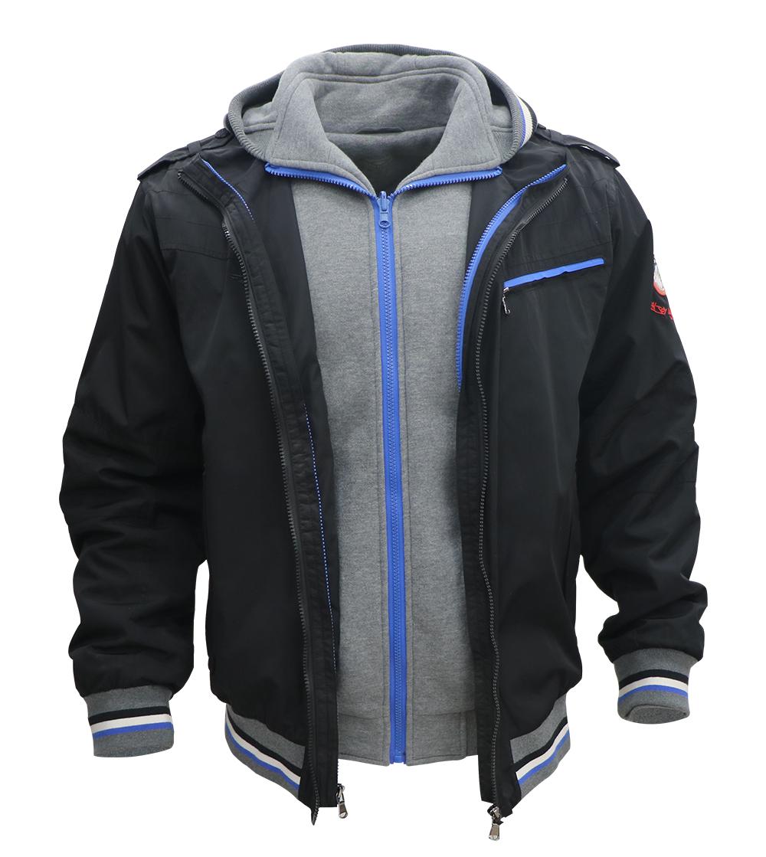 Aleklee men's Detachable Two-piece set jacket AK-4075