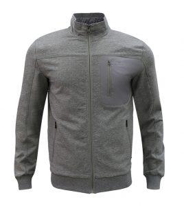 Aleklee zip chest pocket hoodie AL-1877