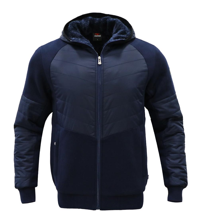 Aleklee patchwork jacket hoodie AL-1953