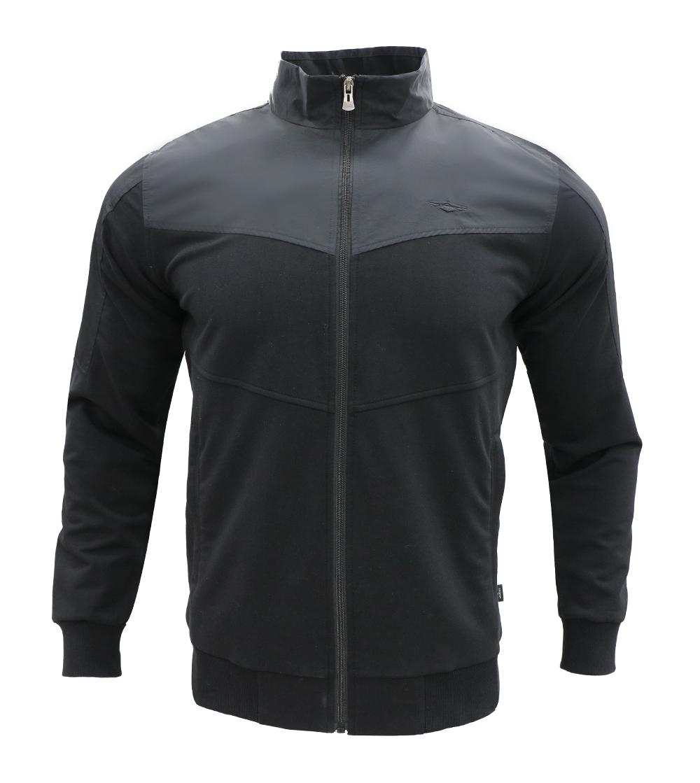 Aleklee similar pannel patchwork hoodie AL-7810