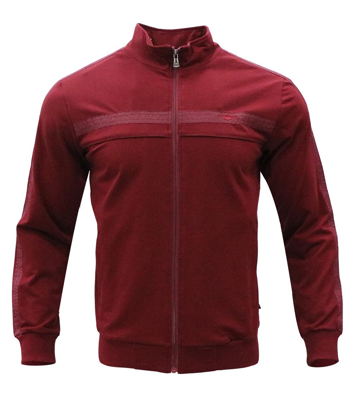 Aleklee chest stripe tape sleeve hoodie AL-7811