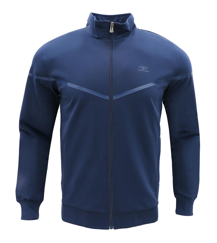 Aleklee slanted chest stripe hoodie AL-7812