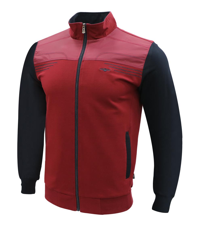 Aleklee two tone colorblock sleeve hoodie AL-7815
