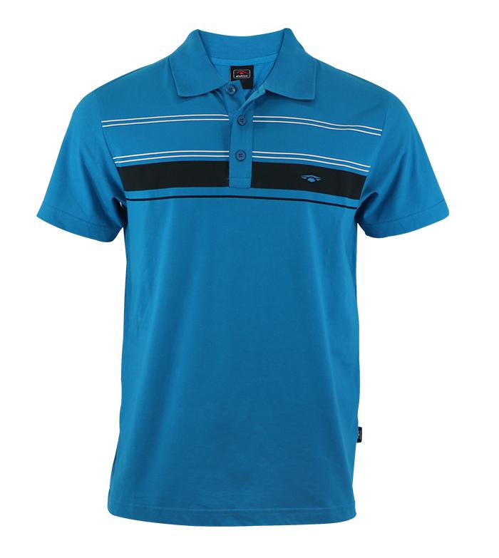 Aleklee chest stripe t-shirt AL-5011#